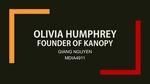 Kanopy: Olivia Humphrey by Giang Nguyen