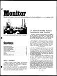 Monitor Newsletter January 1973
