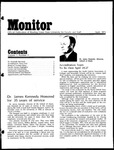 Monitor Newsletter April 1973