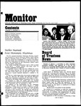 Monitor Newsletter May 1973