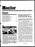Monitor Newsletter October 1973