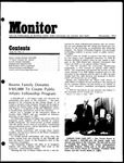 Monitor Newsletter November 1973
