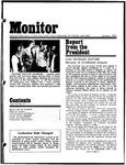 Monitor Newsletter January 1974