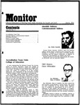 Monitor Newsletter March 1974