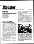 Monitor Newsletter April 1974