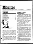 Monitor Newsletter October 1974