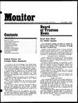 Monitor Newsletter December 1974