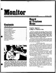 Monitor Newsletter January 1975
