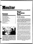 Monitor Newsletter March 1975