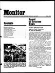 Monitor Newsletter April 1975