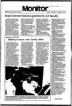 Monitor Newsletter April 09, 1979