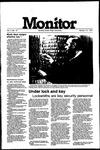 Monitor Newsletter January 18, 1982