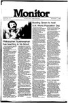 Monitor Newsletter November 01, 1982