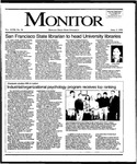 Monitor Newsletter April 03, 1995