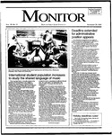 Monitor Newsletter November 20, 1995