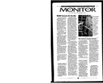 Monitor Newsletter October 30, 2000