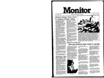 Monitor Newsletter March 14, 1983