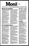 Monitor Newsletter November 19, 1984