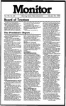 Monitor Newsletter January 28, 1985