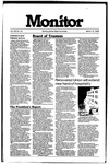 Monitor Newsletter March 18, 1985
