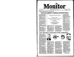 Monitor Newsletter November 04, 1985