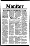 Monitor Newsletter March 31, 1986
