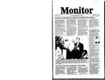Monitor Newsletter October 20, 1986