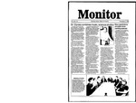 Monitor Newsletter November 03, 1986