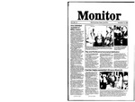 Monitor Newsletter November 10, 1986