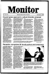 Monitor Newsletter December 08, 1986