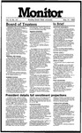 Monitor Newsletter May 31, 1983