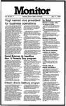 Monitor Newsletter July 11, 1983