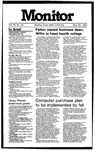 Monitor Newsletter May 28, 1984