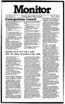 Monitor Newsletter July 09, 1984