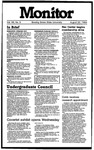Monitor Newsletter August 20, 1984