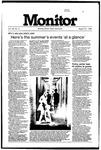 Monitor Newsletter August 27, 1984