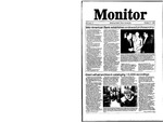 Monitor Newsletter October 27, 1986