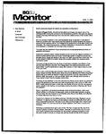 Monitor Newsletter August 11, 2003