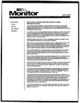 Monitor Newsletter August 25, 2003