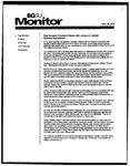 Monitor Newsletter August 25, 2003