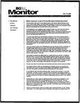 Monitor Newsletter October 13, 2003