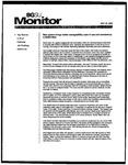 Monitor Newsletter October 20, 2003