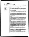 Monitor Newsletter October 27, 2003