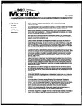 Monitor Newsletter November 10, 2003