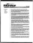 Monitor Newsletter November 24, 2003