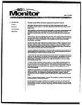 Monitor Newsletter December 15, 2003