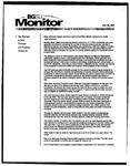 Monitor Newsletter January 26, 2004