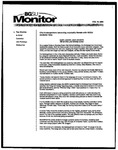 Monitor Newsletter February 16, 2004