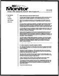 Monitor Newsletter February 23, 2004