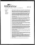 Monitor Newsletter March 01, 2004